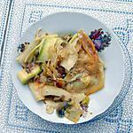 recette Lasagnes de pâte et de courgettes à la viande hâchée et aux 2 sauces