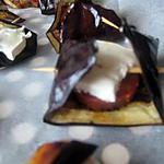 recette Aubergines chorizo-chèvre