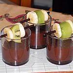 recette Verrine au chocolat