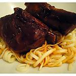 recette Travers de porc au coca cola