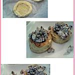 recette Bouchées maison aux fruits de mer