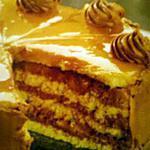 gâteau au chocolat,glaçage caramel