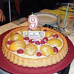 recette tarte SOLEIL