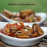 recette MOULES A L'ESCABECHE