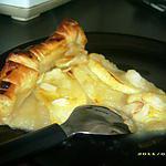 recette tarte pomme-amande