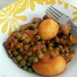recette Veau petit pois pommes de terre