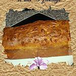 recette cake aux tomates séchées et 3 fromages