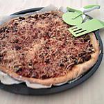 recette Pizza à la bolognaise