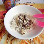 recette riz thaï et sa sauce blanche