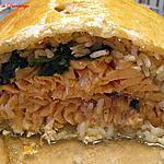 recette Feuilleté de saumon et riz