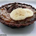 recette Tartelettes Chocolat, Cheesecake & caramel de bananes
