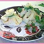 Crepes au jambon et fromage façon aumonieres