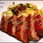 recette Magret de canard au miel et vinaigre balsamique