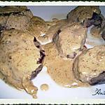 recette Filet de biche ( médaillons)  à la crème de cèpes