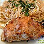 recette roulée d'escalope de poulet à la normande