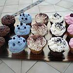 recette mon plateau de cupcakes pour une aprés midi entre filles