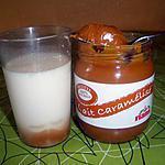 recette yaourt vanillé sur lit  de lait caramélisé