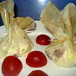 recette feuilletées au fromage frais