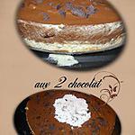 recette bavarois au 2 chocolat
