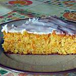recette Gâteau léger aux carottes