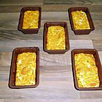 recette petit cake au carotte et féta allégée