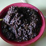recette Tapenade aux olives noires(prépa 10mns)