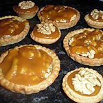 recette tarte aux noix caramel au beurre salé