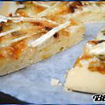 recette Flamiche aux Poireaux & Brie