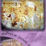 recette endives au jambon de dinde