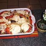 recette Spaguetti gratinés mozzarella