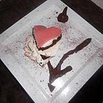 recette ma version mille feuille de l'amour au chocolat...