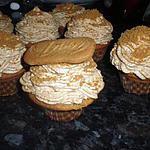 recette cupcake aux spéculoos