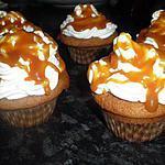 recette cupcake caramel au beurre salé