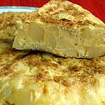 recette tortilla de patate espagnole