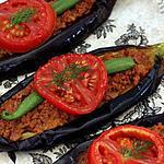 recette Spécialité Turque : Karni Yarik ( Kebap avec le l'aubergine )