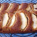 recette Gâteau Pommes cannelle Noisettes