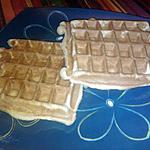 recette Gaufres de Liège à la machine à pain