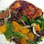 recette Poulet à l'orange et au sirop d'érable.