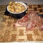 recette Pommes de terres au four et paleron de boeuf