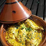 recette Poulet au curry version tajine