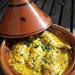 recette Poulet au curry version tajine