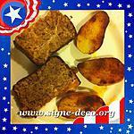 recette Meatloaf et ses pommes de terre au paprika