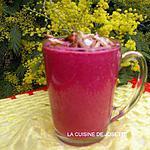 recette gaspacho de betteraves au cumin et crème