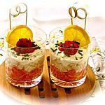 recette VERRINE PAMPLEMOUSSE - CRABE