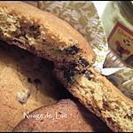 recette Cookies Spéculoos et Pépites de Chocolat