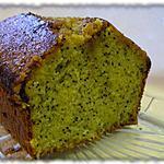 recette Cake à l'orange et aux pavots