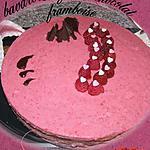 recette bavarois fraise chocolat framboise