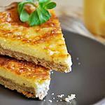 recette Tarte au Fromage & Pâte Brisée à la Farine de Sarrasin