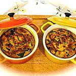 recette GRATIN DE COURGETTES EN COCOTTES