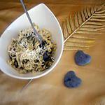 recette Pâtes aux épinards